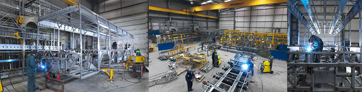 Bus frame fabrication