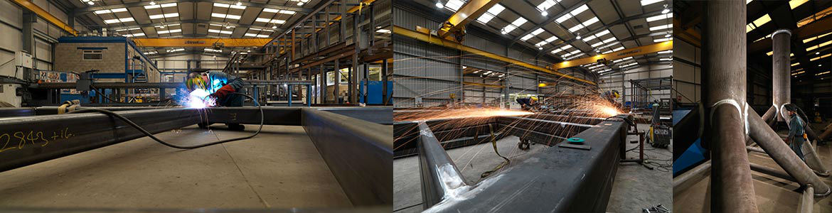 Rail Footbridge Fabrication