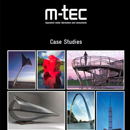m-tec case studies brochure front cover
