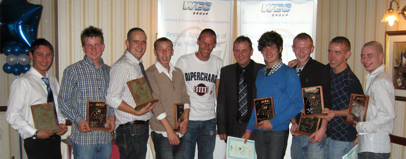WEC Group Apprentices 2008