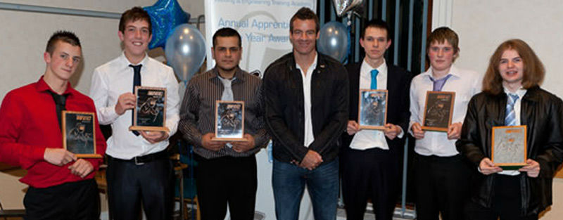 WEC Group apprentices 2010