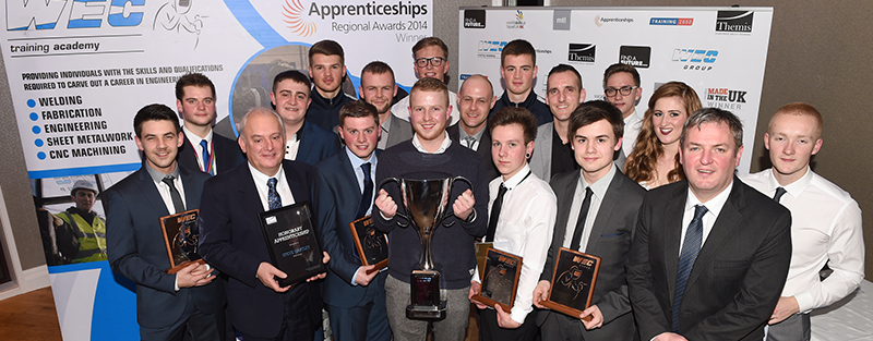 WEC Group apprentice of the year awards 2015