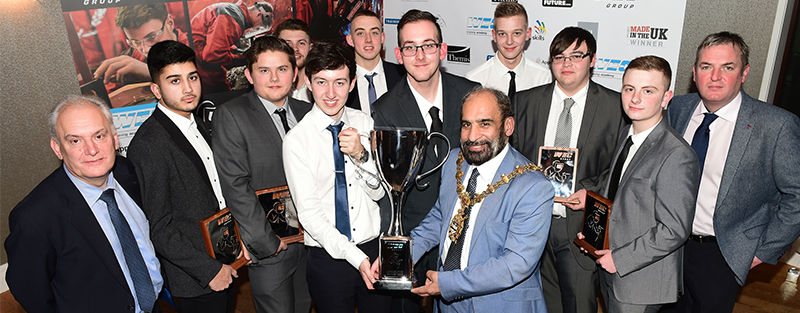 WEC Group apprentices at Apprentice of the Year Awards