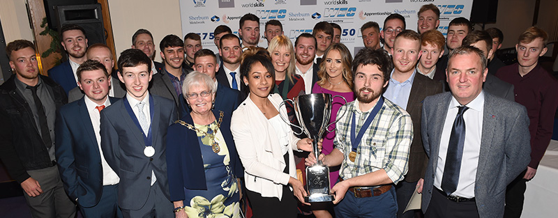 WEC Apprentices at Apprentice of the Year Awards