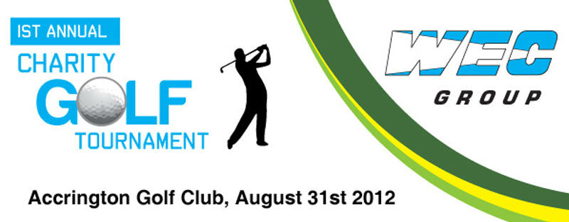 WEC Group Charity Golf Day 2012 Banner