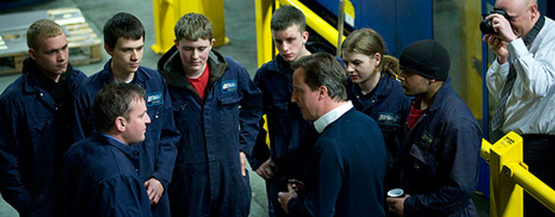 David Cameron at WEC Group