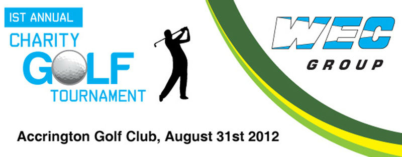 WEC Group golf day graphic