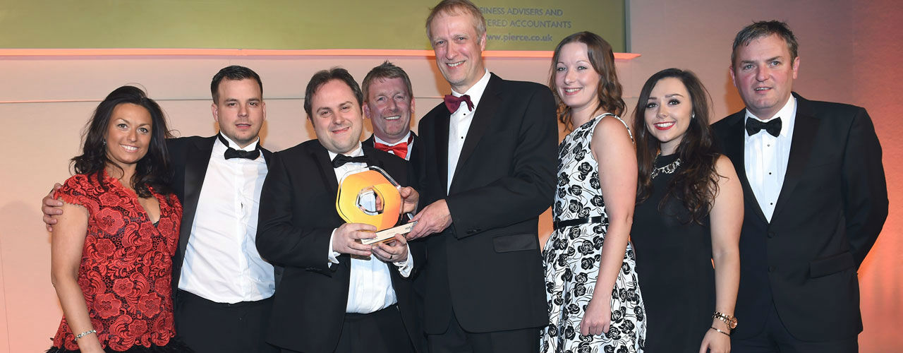 WEC Group staff at Hive Business Awards