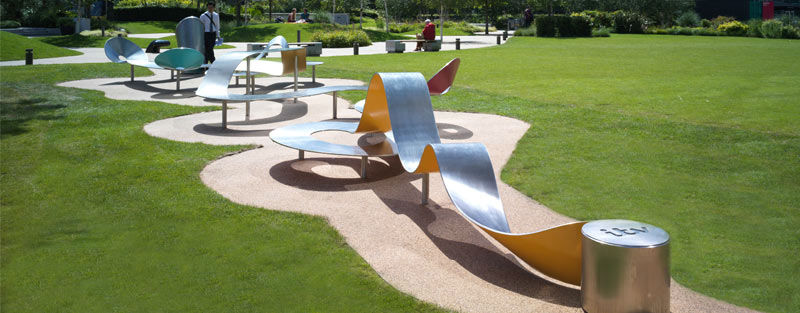 ITV sculptural seating