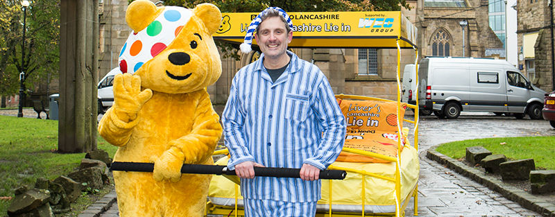 Graham Liver with Pudsey Bear and Push Bed