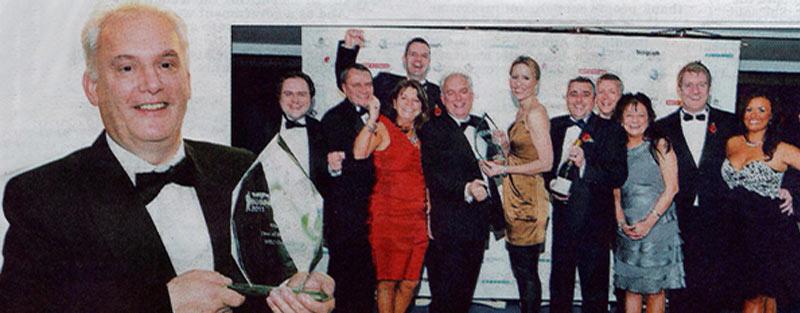 WEC Group staff at Lancashire Telegraph Awards