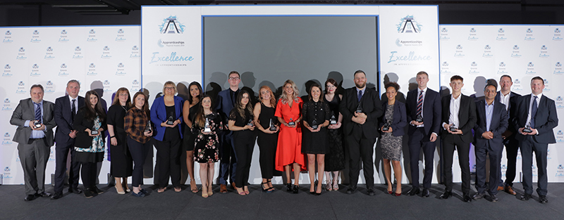 WEC Wins large employer of the year at National Apprenticeship Awards 2019