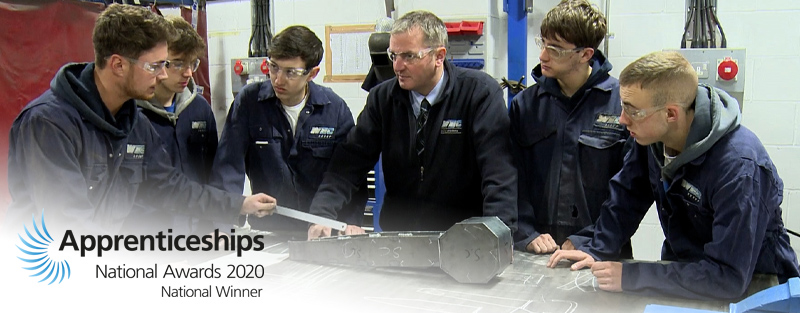 WEC Group Apprentices in Academy