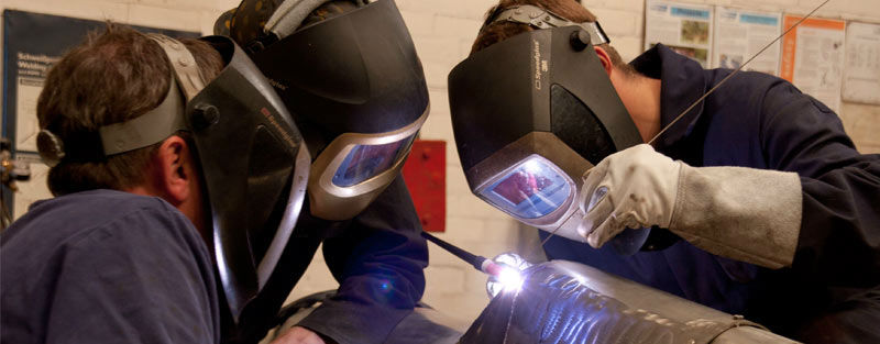 welding and engineering apprentices at WEC training Academy