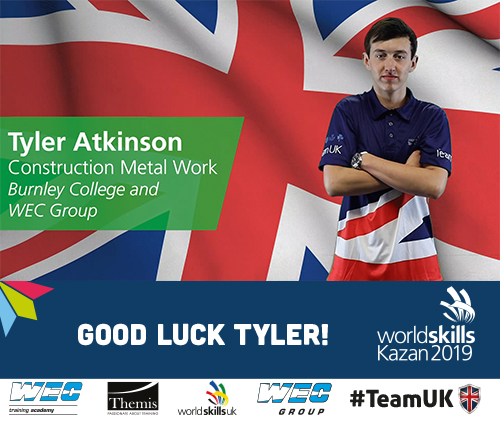 Good Luck Tyler from WEC Group