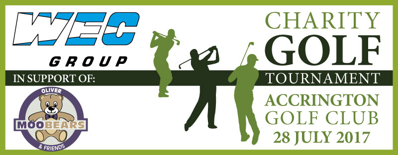 WEC Charity Golf Day 2017 Banner