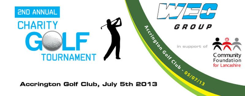 WEC Group Charity Golf Day 2013 Banner