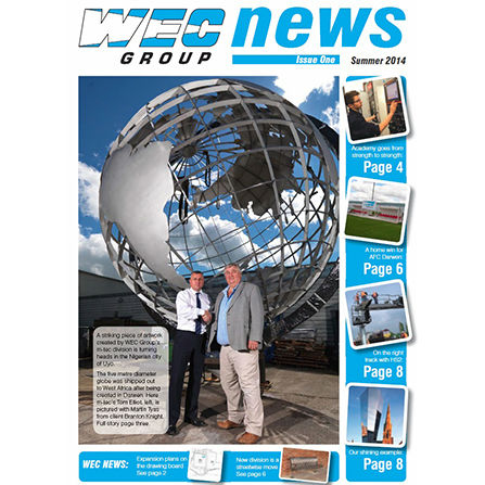 WEC Newsletter Issue 1 front cover