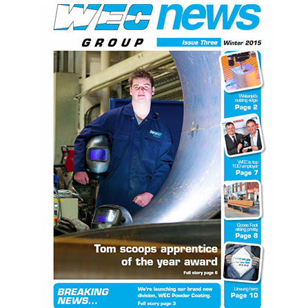 WEC Newsletter Issue 3 front cover