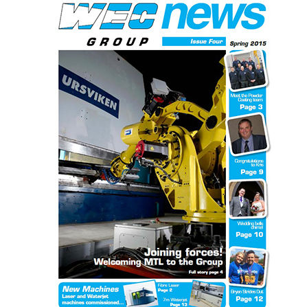 WEC Newsletter issue 4 front cover