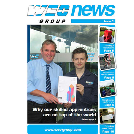 WEC Newsletter issue 5 front cover