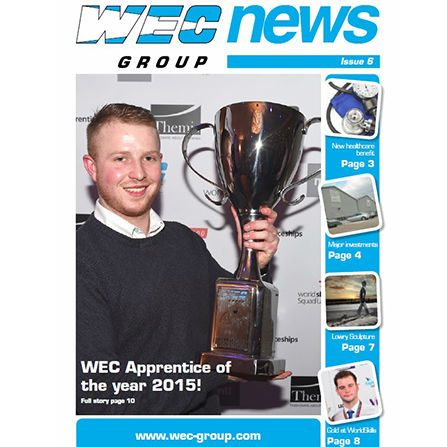 WEC Group newsletter issue 6 front cover