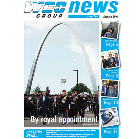 WEC Newsletter issue 2 front cover