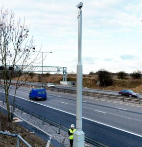 CCTV Pole for Highways