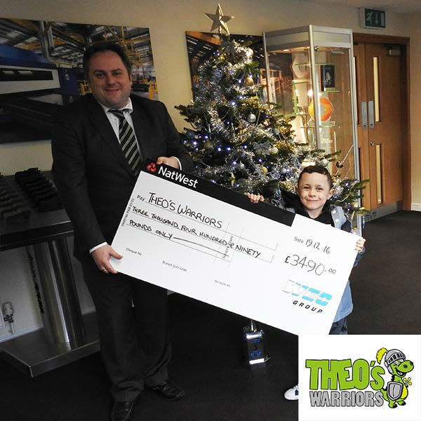 Cheque for Theo