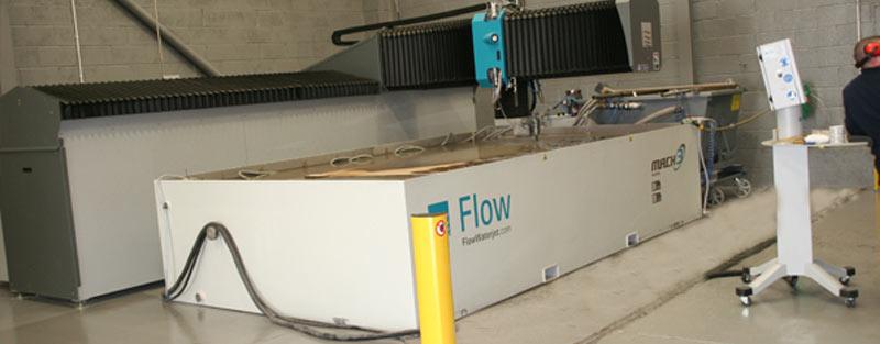 New Waterjet Cutting Machine | WEC Group News